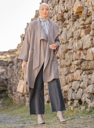 - Unlined - Polo neck - Acrylic - Cotton - Topcoat