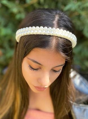 White - Headband
