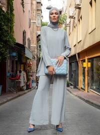 Gray - Unlined - Suit