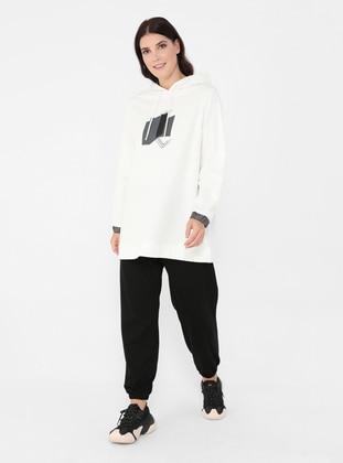 Black - Plus Size Pants - Alia