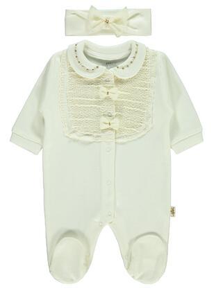 Ecru - Baby Sleepsuit - Civil