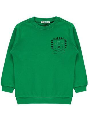 Green - Boys` Sweatshirt - Civil