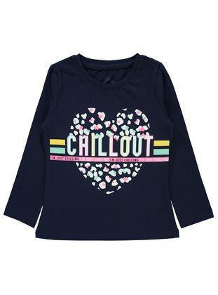 Navy Blue - Girls` Sweatshirt - Civil
