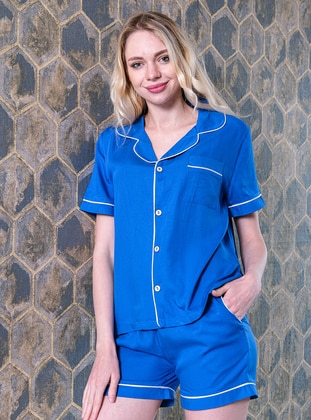 Saxe - Shawl Collar - Pyjama Set
