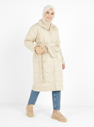 - Fully Lined - Polo neck - Coat