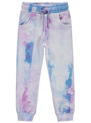 Lilac - Girls` Sweatpants - Civil