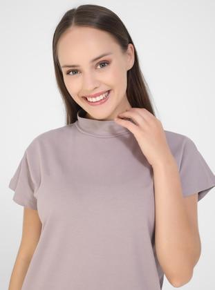 Purple - - T-Shirt