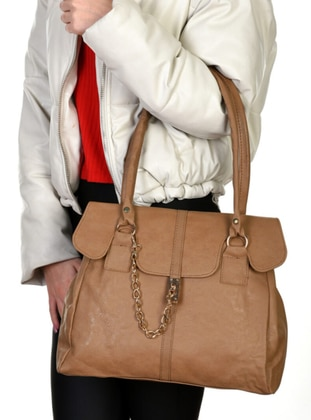 Camel - Satchel - Clutch Bags / Handbags