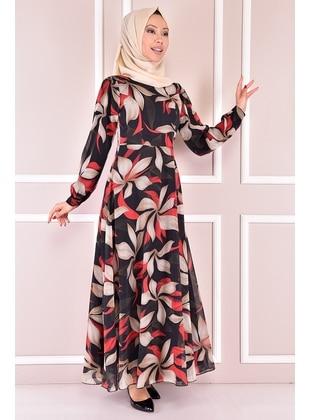 Red - Modest Dress