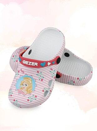 Multi - Sandal - Girls` Slippers - Gezer
