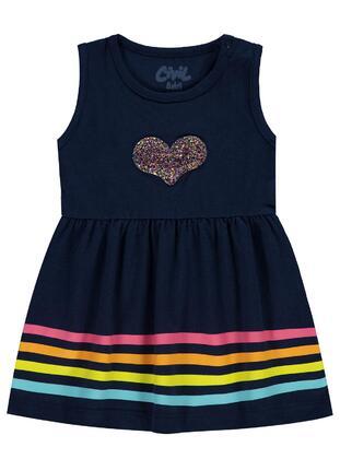 Navy Blue - Baby Dress