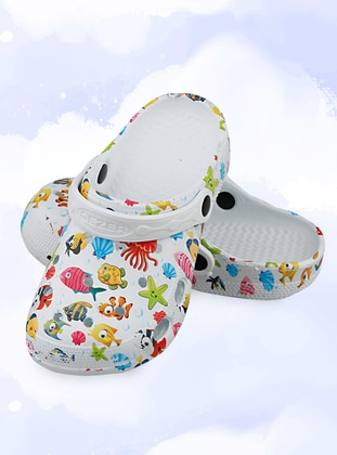 Multi - Sandal - Girls` Slippers