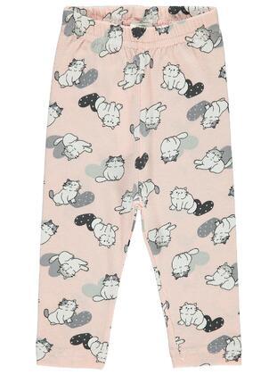 Salmon - baby tights
