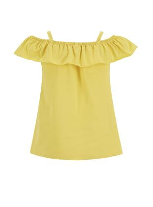 Yellow - Girls` Blouse - DeFacto