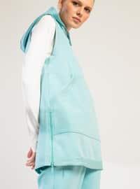 Sea-green - Activewear Tops