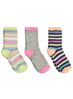 Gray - Girls` Socks - Civil