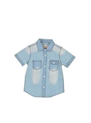 Light Blue - baby shirts