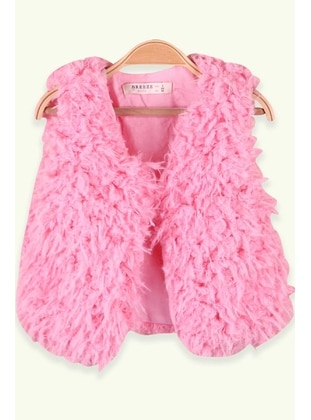 Pink - Girls` Vest - Breeze Girls&Boys