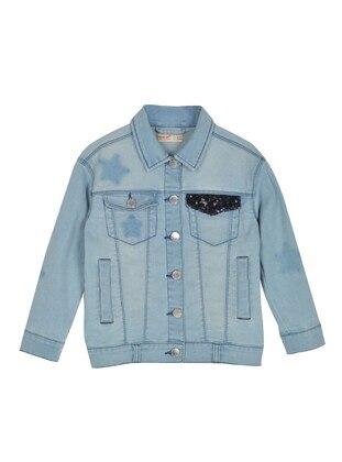 Light Blue - Girls` Jacket