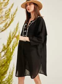 Black - Beach Dress