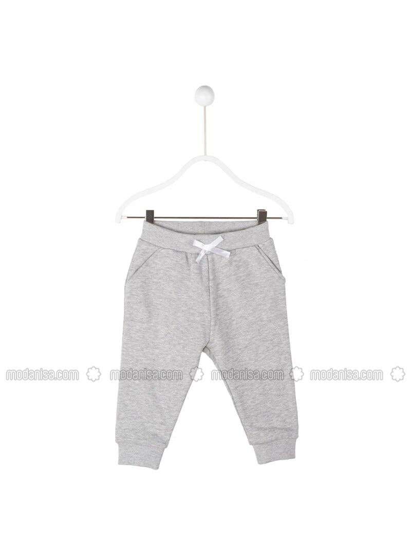 Gray - Baby Pants