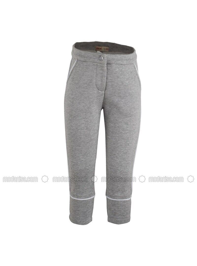 Gray - Girls` Pants