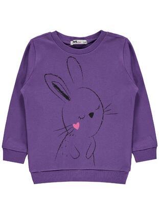 Purple - Girls` Sweatshirt - Civil