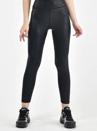 Black - Gym Leggings - MOSSTA