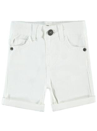 White - Baby Shorts - Civil