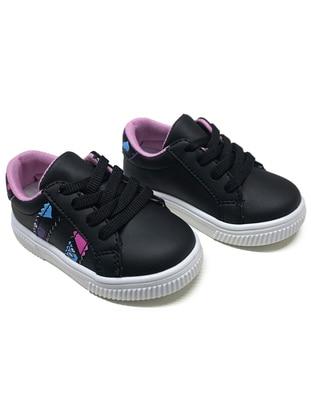Pink - Black - Sport - Girls` Shoes