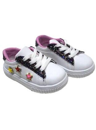 White - Sport - Girls` Shoes