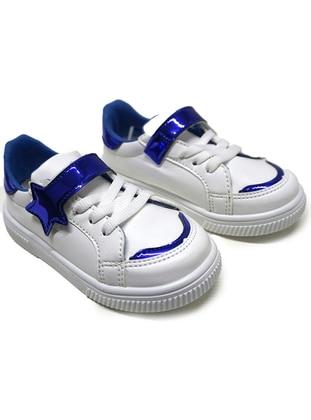 Navy Blue - Sport - Girls` Shoes