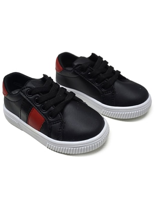 Red - Black - Sport - Boys` Shoes
