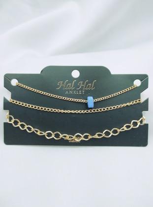 Gold - Anklet - AYDIN BİJUTERİ