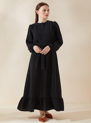 Multi - Crepe - Modest Dress