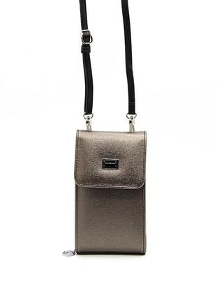 Silver - Clutch - Wallet