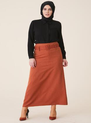 Multi - Plus Size Skirt