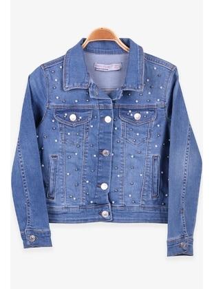 Blue - Girls` Jacket - Breeze Girls&Boys