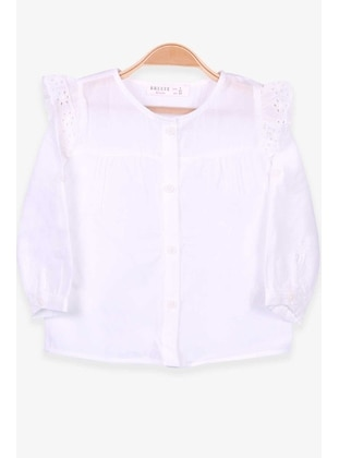 Ecru - Girls` Shirt - Breeze Girls&Boys