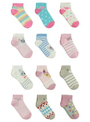 Pink - Girls` Socks - Civil
