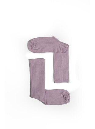 Lilac - Socks - Fahhar