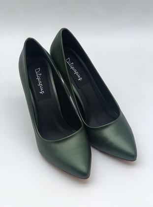 Green - High Heel - Evening Shoes