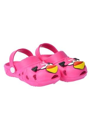 Fuchsia - Boys` Slippers