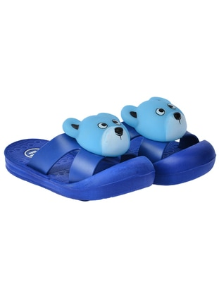 Turquoise - Boys` Slippers