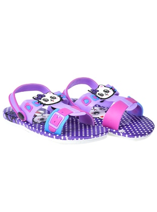 Lilac - Girls` Slippers