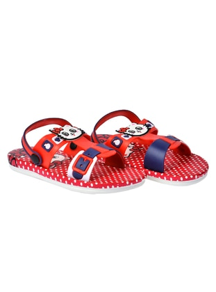 Red - Girls` Slippers