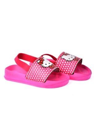 Fuchsia - Girls` Slippers