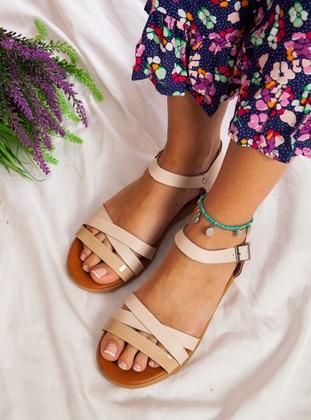 Mink - Sandal - Sandal - Ayakkabı Havuzu