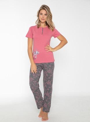 Rose - Crew neck - Pyjama Set