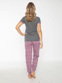 Smoke - Crew neck - Pyjama Set